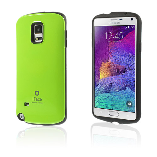 Iface (Grön) Samsung Galaxy Note 4 Skal