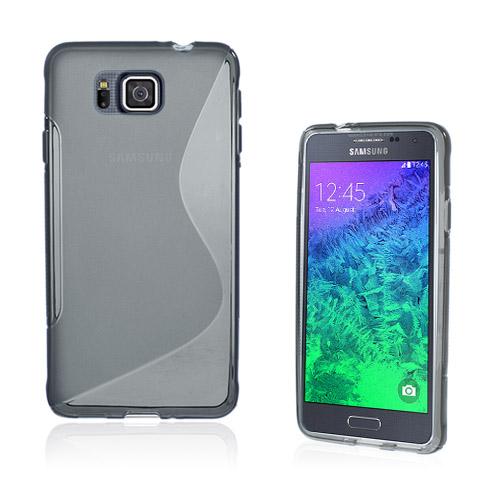 Lagerlöf (Grå) Samsung Galaxy Alpha Skal