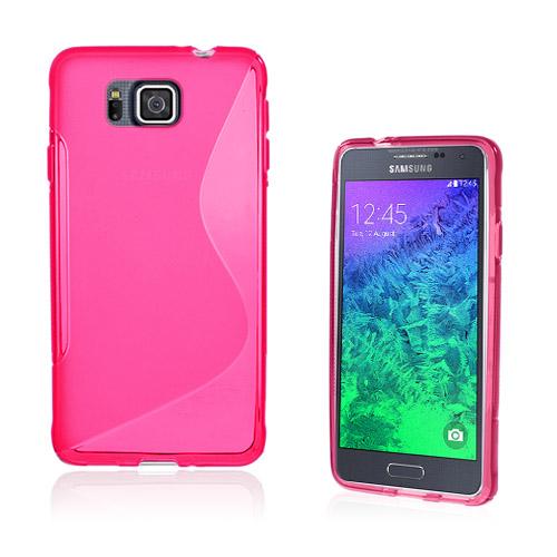 Lagerlöf (Het Rosa) Samsung Galaxy Alpha Skal