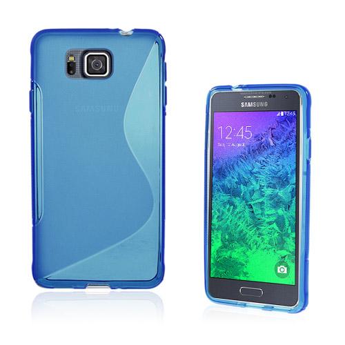 Lagerlöf (Blå) Samsung Galaxy Alpha Skal