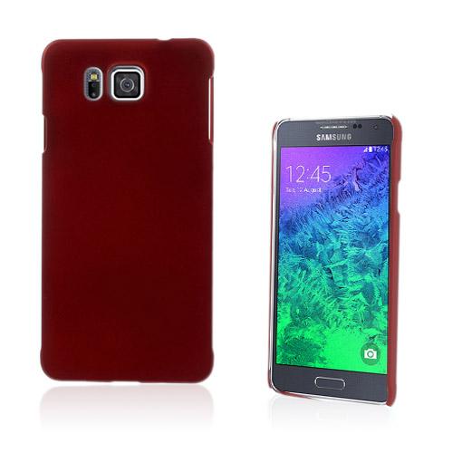 Christensen (Röd) Samsung Galaxy Alpha Skal
