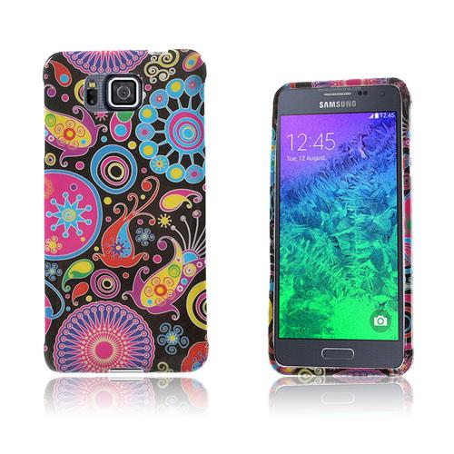 Westergaard Samsung Galaxy Alpha Skal – Paisley Blommor