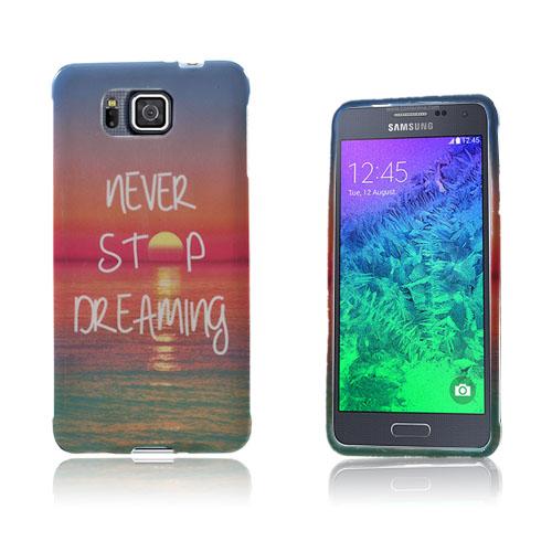 Westergaard Samsung Galaxy Alpha Skal – Sluta Aldrig Drömma