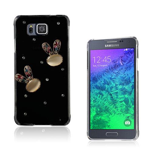 Shine Samsung Galaxy Alpha Skal – Kristall Kanin