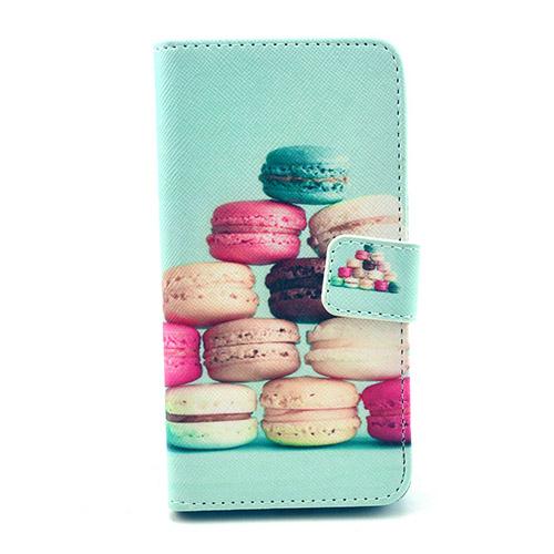 Moberg Samsung Galaxy Alpha Flip Fodral – Macarons