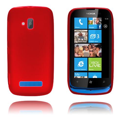 GelCase (Röd) Nokia Lumia 610 Skal
