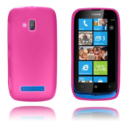 GelCase (Rosa) Nokia Lumia 610 Skal