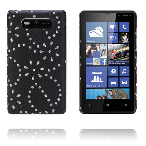 Firenze (Svart) Nokia Lumia 820 Skal