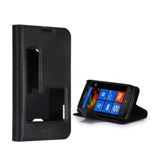 Betha (Svart) Nokia Lumia 510 Läderfodral
