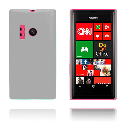 Hårdskal (Vit) Nokia Lumia 505 Skal