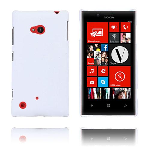 Hard Shell (Vit) Nokia Lumia 720 Skal