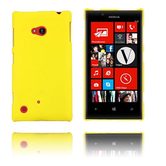 Hard Shell (Gul) Nokia Lumia 720 Skal