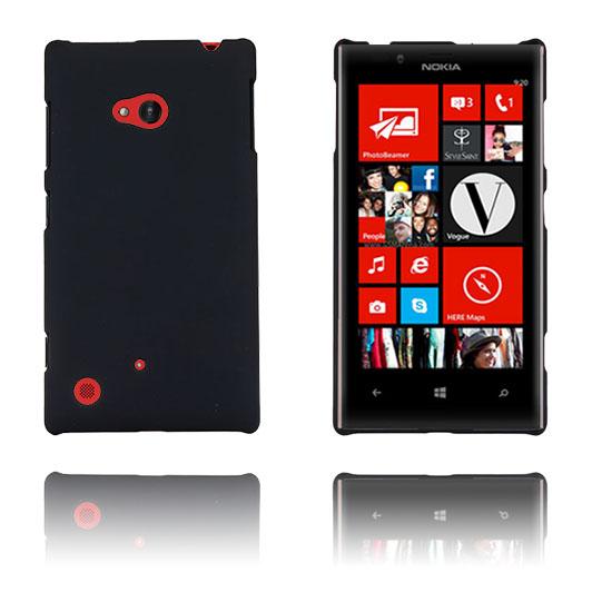 Hard Shell (Svart) Nokia Lumia 720 Skal