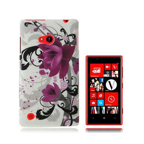 Valentine (Lila Blomma) Nokia Lumia 720 Skal