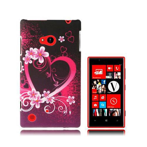 Valentine (Rosa Hjärta) Nokia Lumia 720 Skal