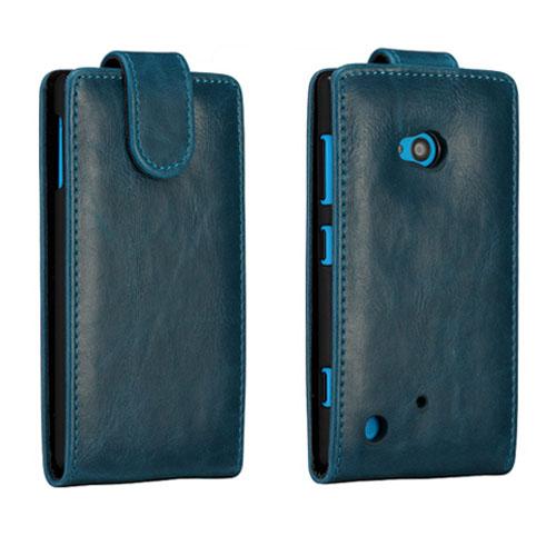 Wall Street (Mörkblå) Nokia Lumia 720 Läderfodral