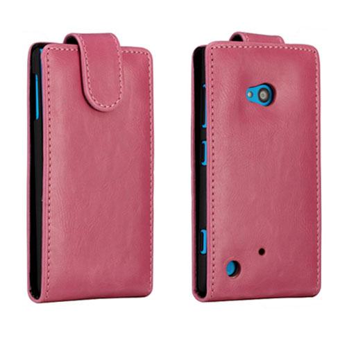 Wall Street (Rosa) Nokia Lumia 720 Läderfodral
