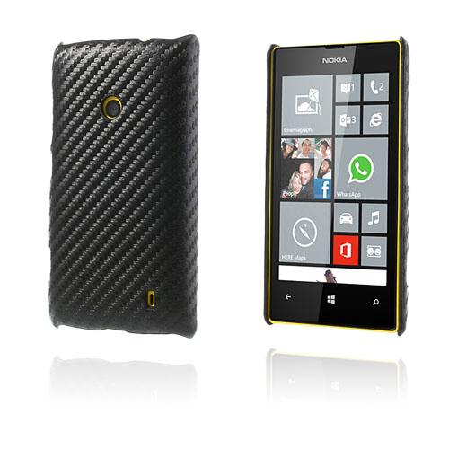 Carbon (Svart) Nokia Lumia 520 / 525 Skal