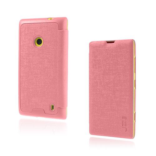 Lincoln (Rosa) Nokia Lumia 520 / 525 Läderfodral