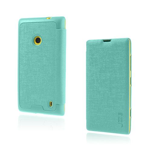 Lincoln (Grön) Nokia Lumia 520 / 525 Läderfodral
