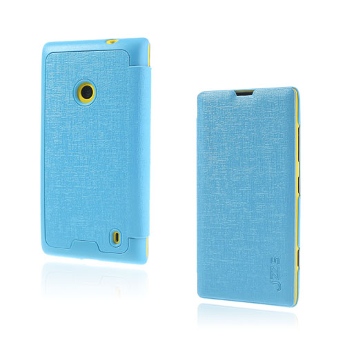 Lincoln (Blå) Nokia Lumia 520 / 525 Läderfodral