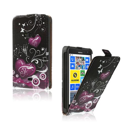 Festival (Hjärtan & Virvlar) Nokia Lumia 625 Läderfodral