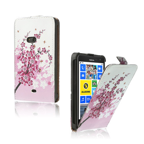 Festival (Rosa) Nokia Lumia 625 Läderfodral