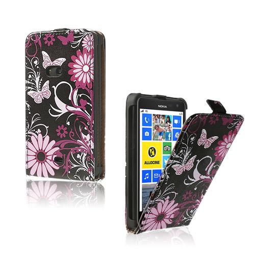 Festival (Nattfjärilar) Nokia Lumia 625 Läderfodral