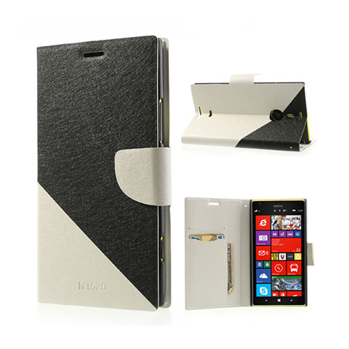 Strindberg Nokia Lumia 1520 Fodral – Svart / Vit