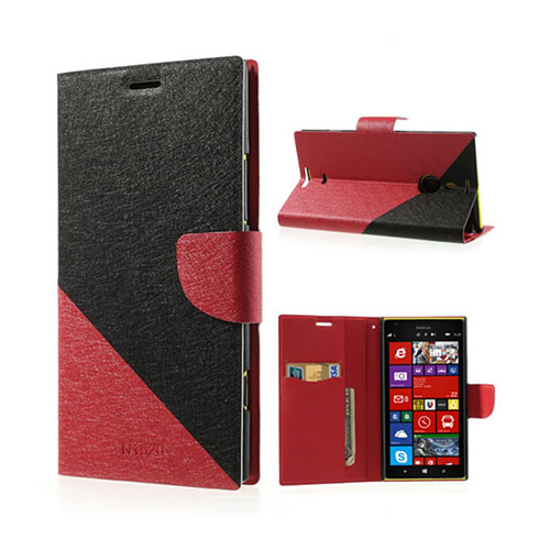 Strindberg Nokia Lumia 1520 Fodral – Svart / Röd