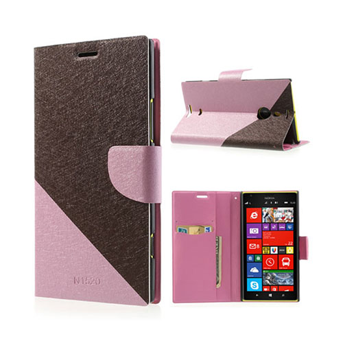 Strindberg Nokia Lumia 1520 Fodral – Brun / Rosa