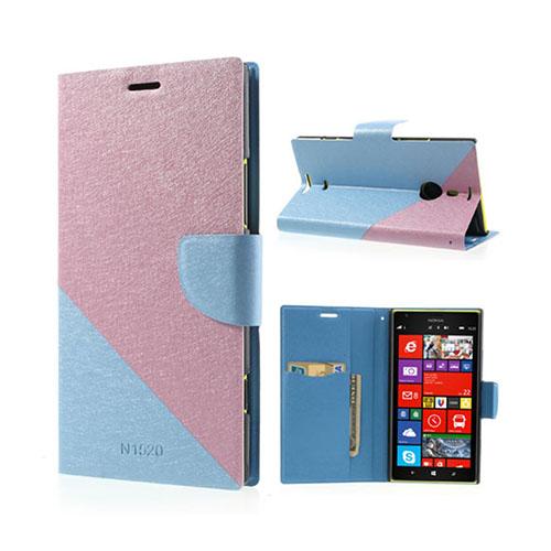 Strindberg Nokia Lumia 1520 Fodral – Rosa / Ljus Blå