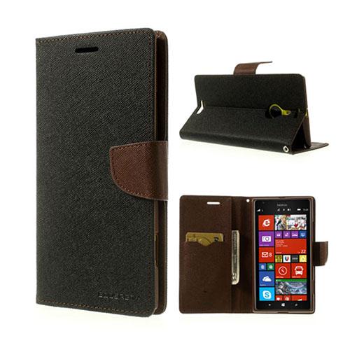 MERCURY Goospery Nokia Lumia 1520 Fodral – Brun / Svart