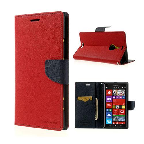 MERCURY Goospery Nokia Lumia 1520 Fodral – Mörk Blå / Röd