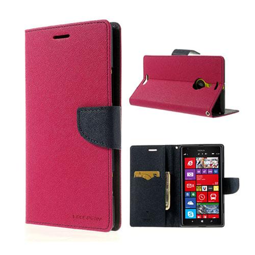MERCURY Goospery Nokia Lumia 1520 Fodral – Mörk Blå / Varm Rosa