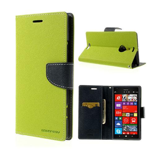 MERCURY Goospery Nokia Lumia 1520 Fodral – Mörk Blå / Grön