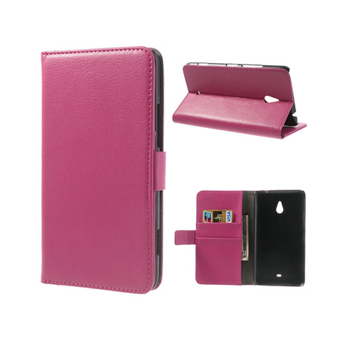 Wall Street (Rosa) Nokia Lumia 1320 Läderfodral