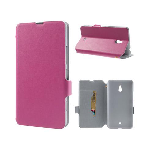 Ambassador (Rosa) Nokia Lumia 1320 Genuint Läderfodral