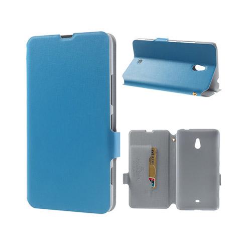 Ambassador (Blå) Nokia Lumia 1320 Genuint Läderfodral