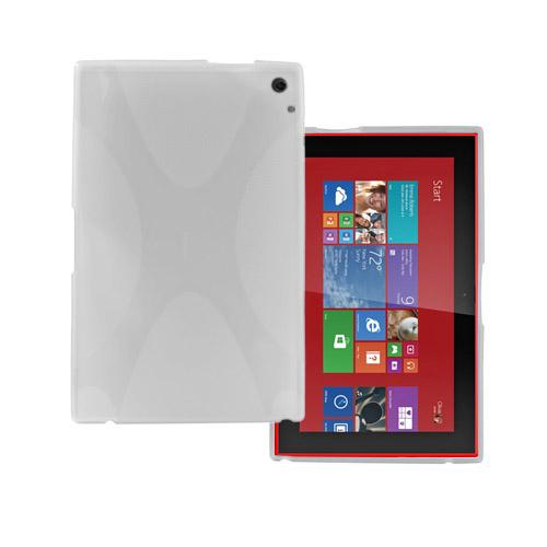 Kielland TPU Skal till Nokia Lumia 2520 Tablet – Vit