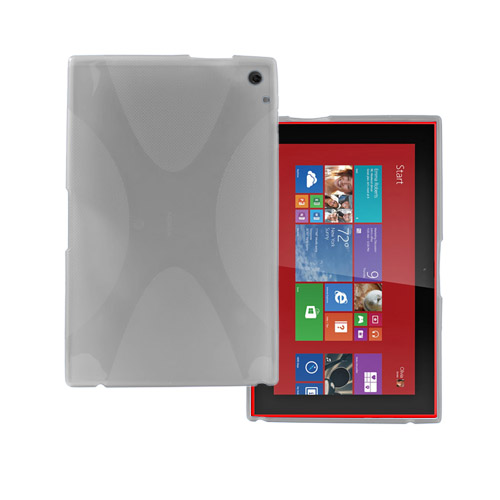 Kielland TPU Skal till Nokia Lumia 2520 Tablet – Genomlig