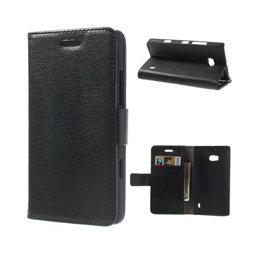 Wall Street (Svart) Nokia Lumia 929 Läderfodral