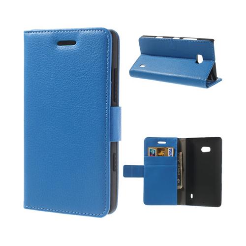 Wall Street (Blå) Nokia Lumia 929 Läderfodral