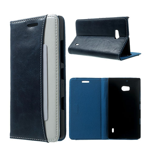 Marx Crazy Horse Nokia Lumia 929/930 Fodral – Mörk Blå