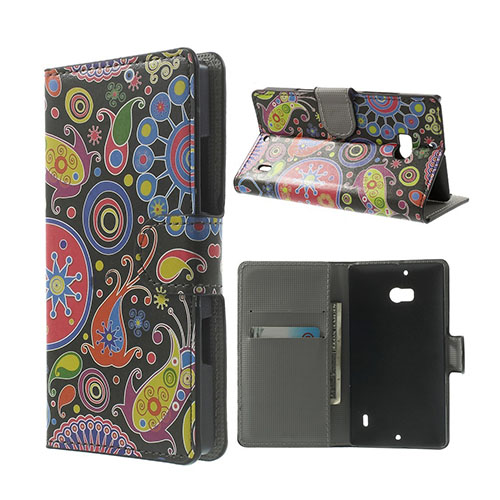 Moberg Nokia Lumia 929/930 Fodral – Paisley Blommor