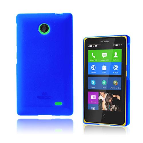 Glitter (Blå) Nokia X Skal