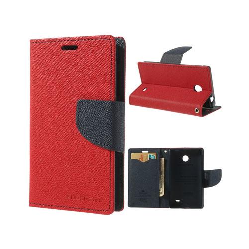 Mercury (Röd) Nokia X Flip-Fodral