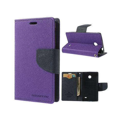 Mercury (Lila) Nokia X Flip-Fodral