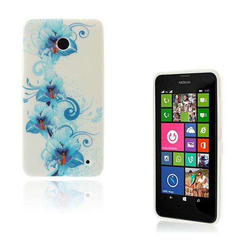 Westergaard (Blå Kronblad) Nokia Lumia 630 / 635 Skal