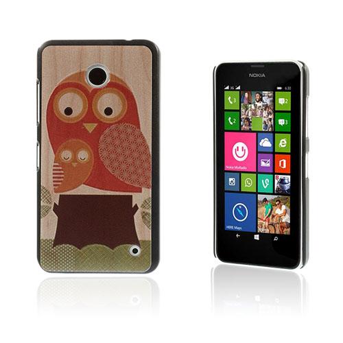 Persson Nokia Lumia 630 Skal – Söt Tecknad Uggla